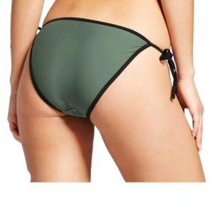 NWT Xhilaration juniors string side tie bikini lge
